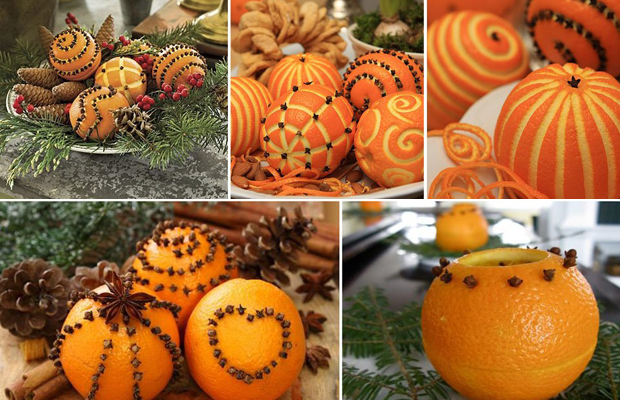10 Christmas creative fruits arrangements ideas