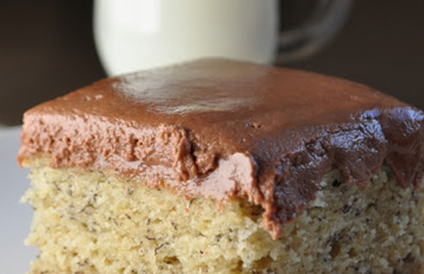 Banana Cake with Nutella Frosting main image