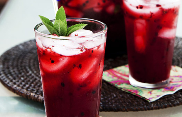 Blackberry Mint Lemonade-h