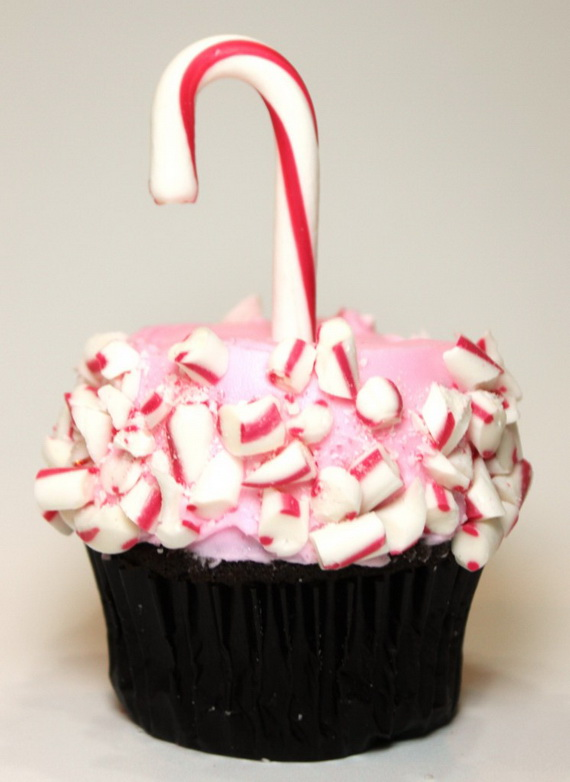 Christmas creative cupcake decoration 2