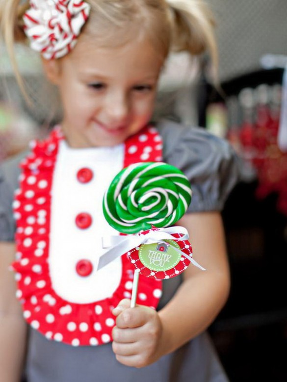 Christmas creative sweets and deserts ideas - Lollipop candy
