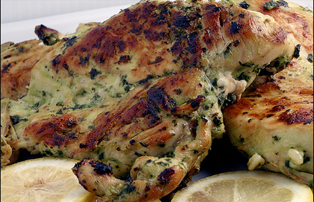 Cilantro Thai Grilled Chicken-h