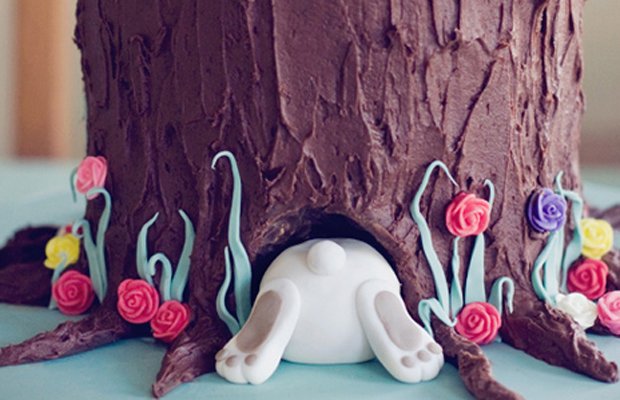 Easter Bunny Cake from Tracey Lau-h