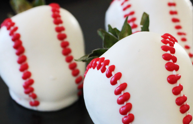 Home run chocolate covered strawberries.h