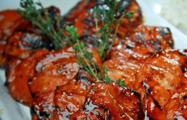 South East Asian Barbeque Chicken by Chef Ryan Bergunio-h