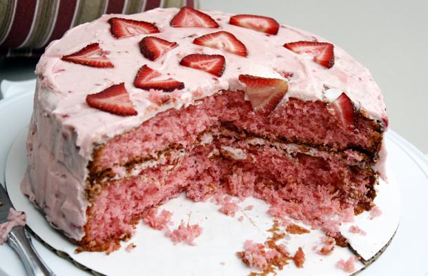 Strawberry Cake-h