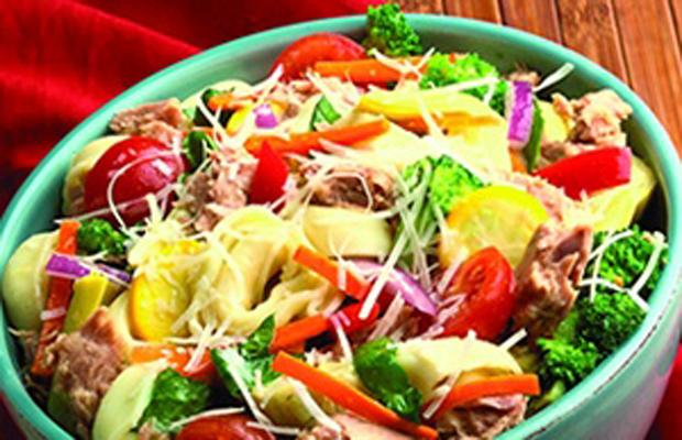 Tortellini Tuna Salad-h