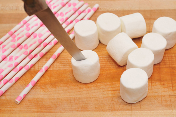 Marshmallow Pops, cute ideas for Valentine's Day