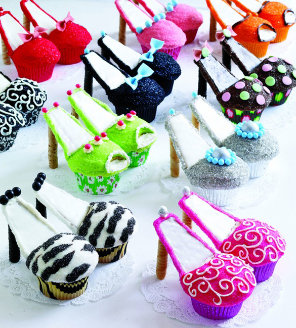 High Heel Cupcakes by We Lived Happily Ever After1