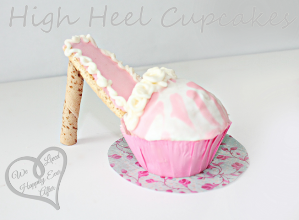 High Heel Cupcakes by We Lived Happily Ever After6
