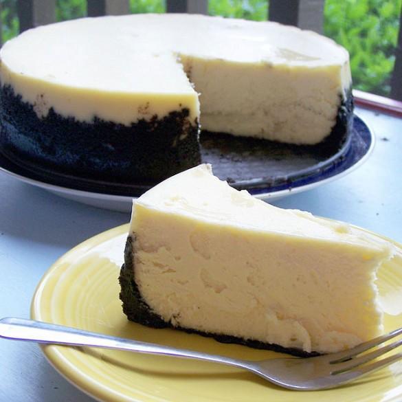 Cheesecake Supreme with Oreo cookie crust