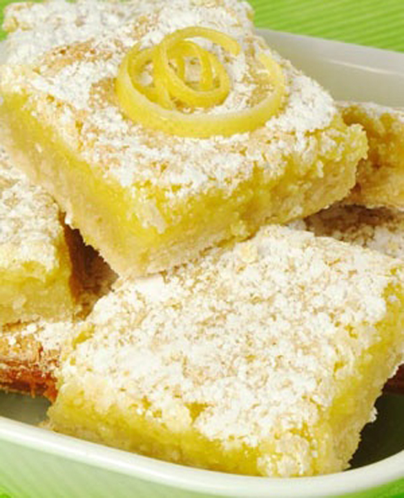 Gluten-Free Lemon Bars - fancy-edibles.com
