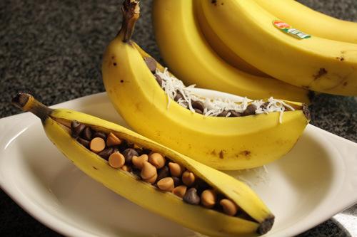 Banana Boats from Lick my spoon