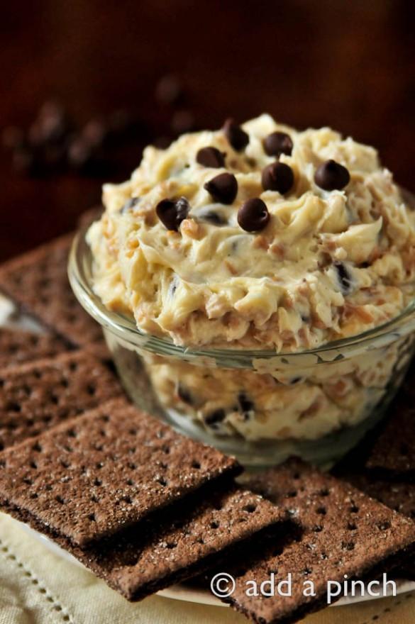Cookie Dough Dip Recipe-Recipe-Chocolate-Chip-Toffee-Cookie-Dough-Dip
