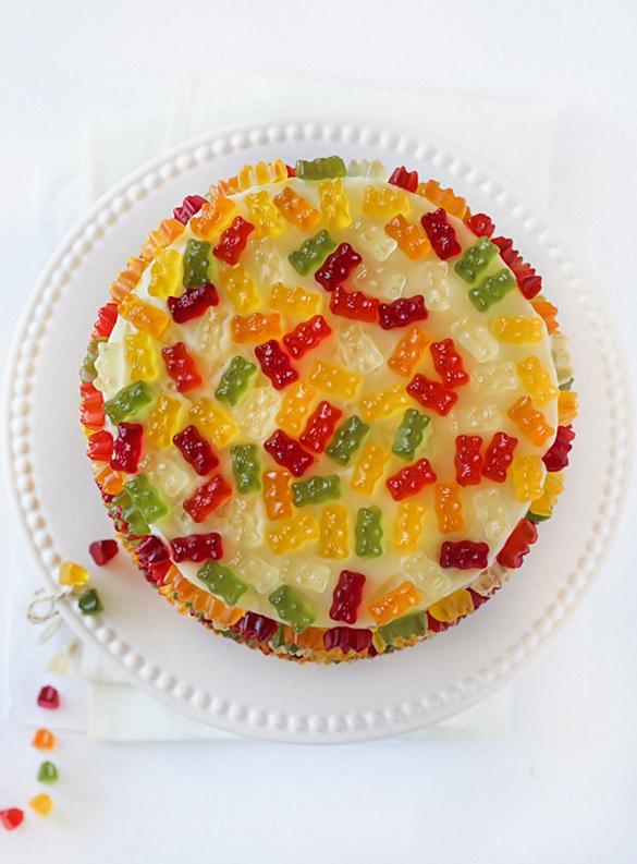 Gummy Bear Layer Cake Fancy Edibles Com