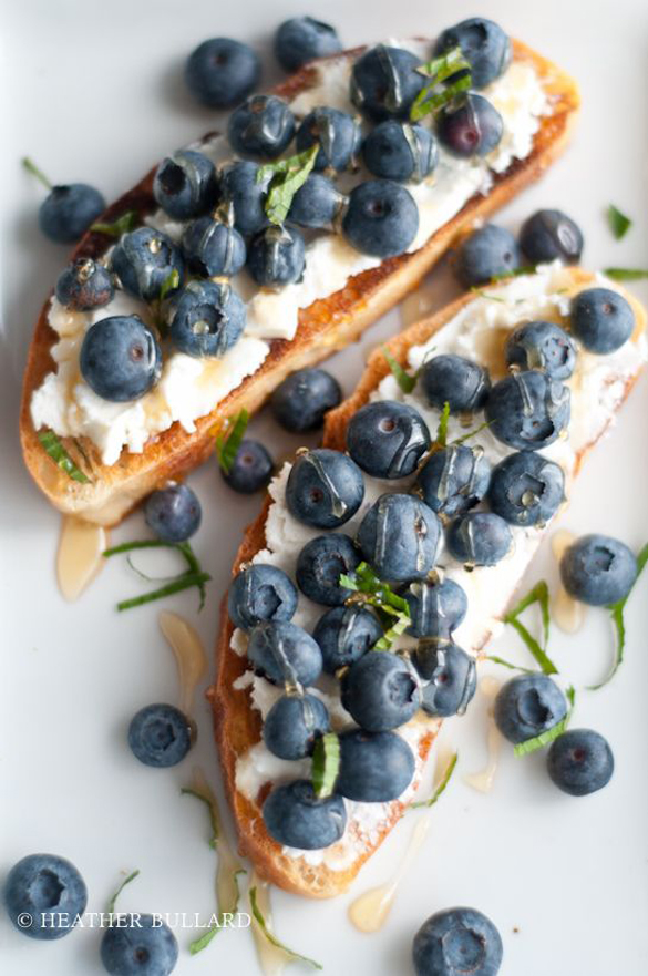 Toast: sweet and savory recipe - fancy-edibles.com