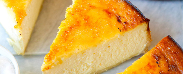 Brûléed NYC Cheesecake