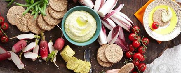 Zucchini Hummus from The UnDiet Cookbook - Copy