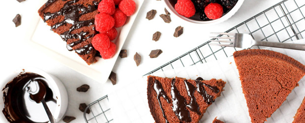 Gluten-free Almond Butter Brownie Tart