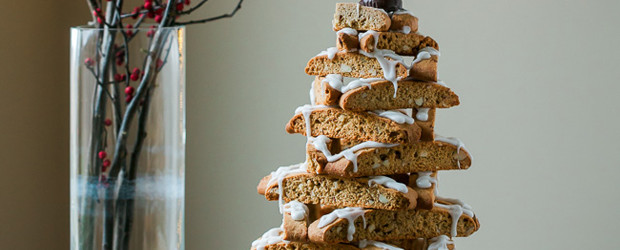 Almond Biscotti Christmas Tree2