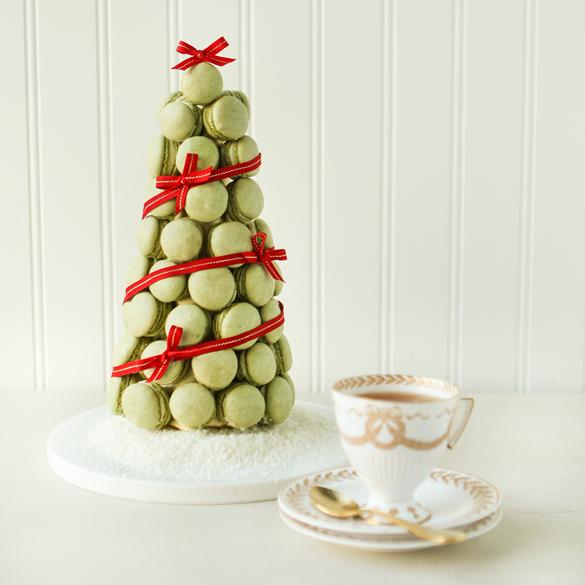 Macaron Christmas Tree Fancy Edibles Com
