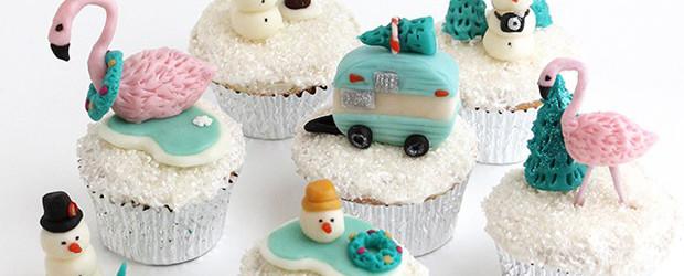 Snow Globe Cupcakes DIY