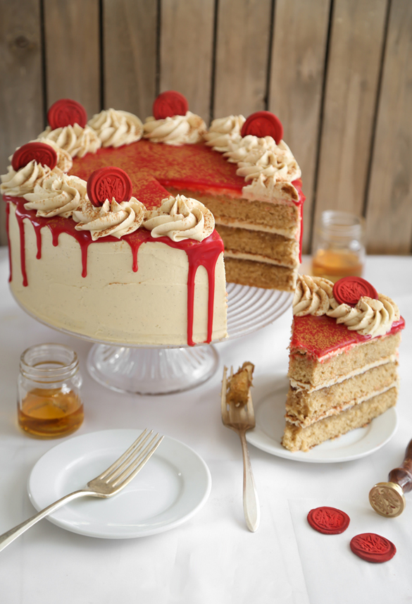 Bourbon Vanilla Layer Cake Fancy Edibles Com