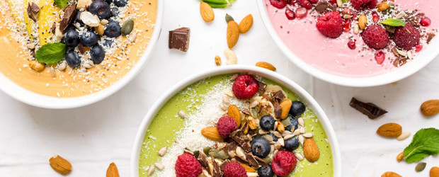 Smoothie Bowls Three Ways