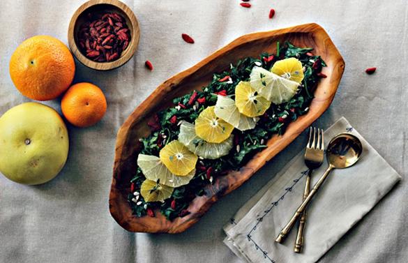 Winter Sunshine Salad