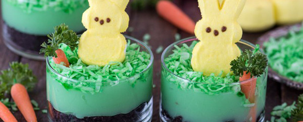 Peeps Bunny Pudding Cups1