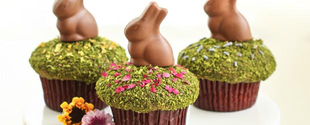 Matcha Moss Cupcakes