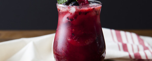 Mixed Berry Tequila Mojito