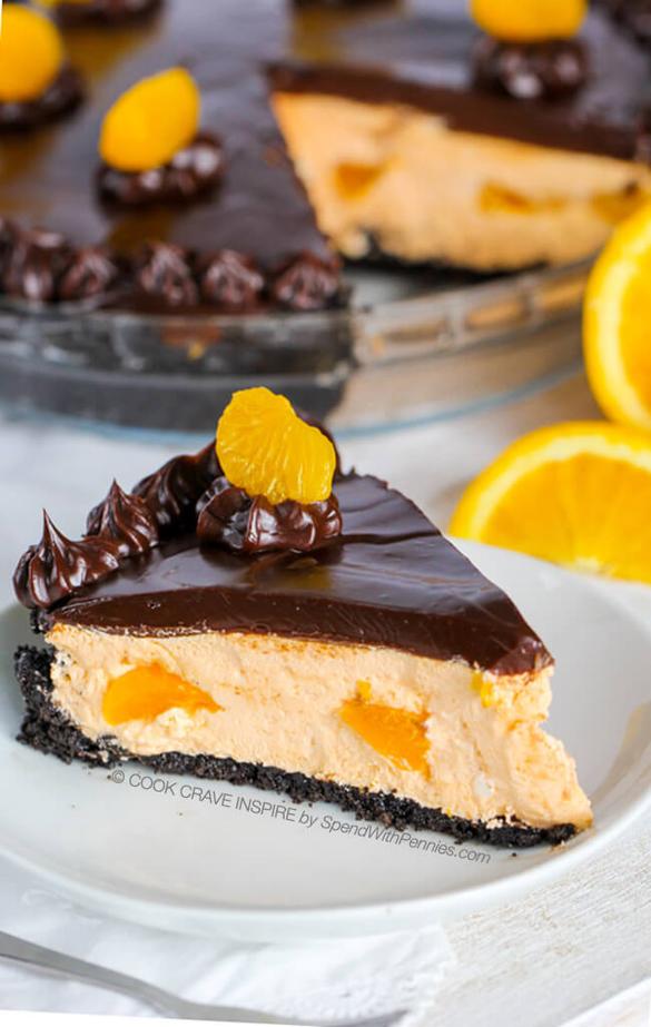 Chocolate Orange Pie