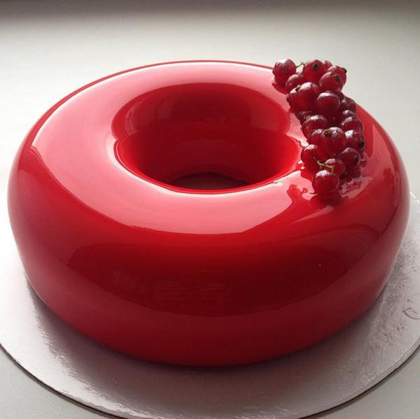 Mirror Marble Cakes by Olga Noskova