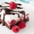 Raspberry Brownie Frozen Yogurt Dessert