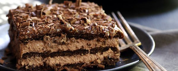 Double Chocolate no bake Eclair Cake
