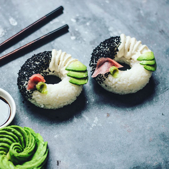 Sushi Donuts by SAM