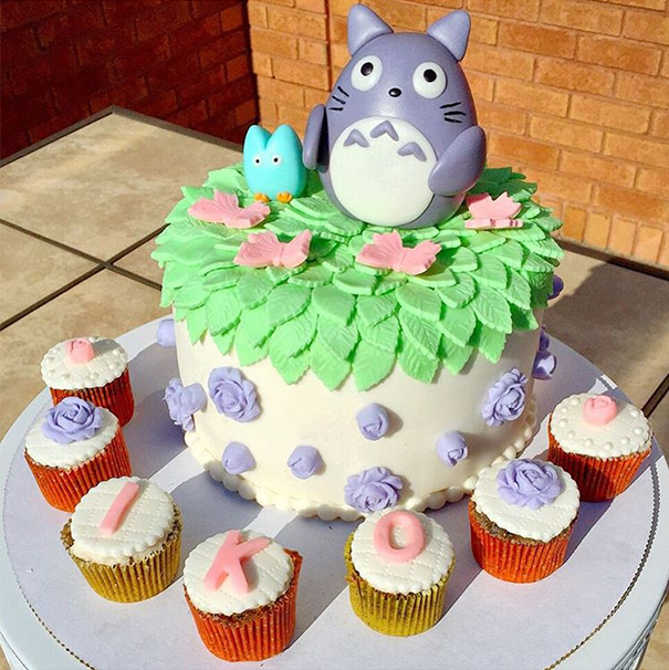 Totoro Cakes That Are Too Cute To Eat
