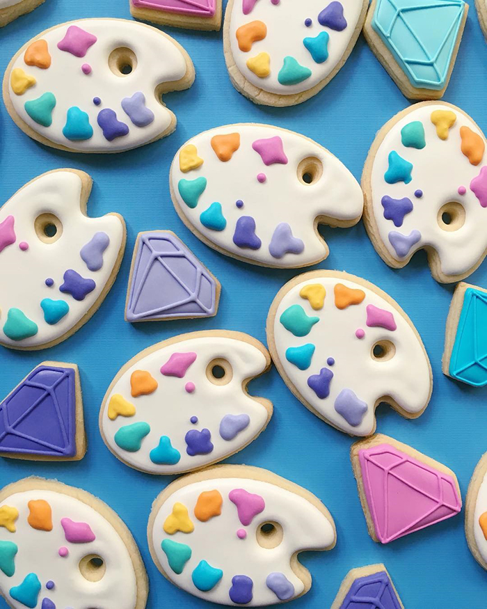 When Graphic Designer Uses Design Skills To Make Cookies