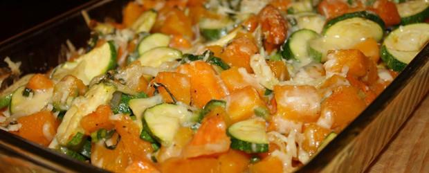 Zucchini & Butternut Squash Bake