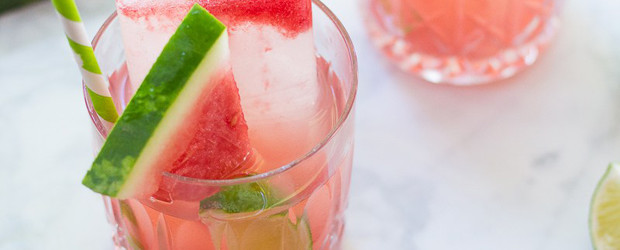 Watermelon & Coconut Water Poptails