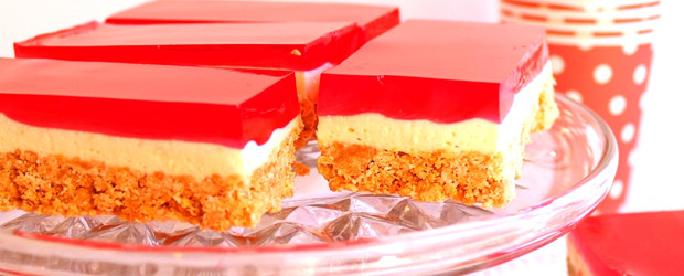 Cute Jelly Cheesecake Slice