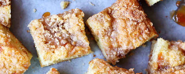 Apricot-Almond Coffee Cake
