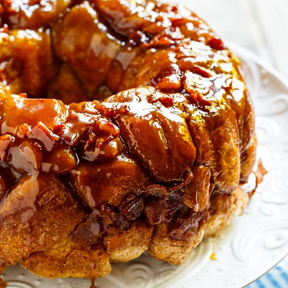 Bacon Maple Monkey Bread - fancy-edibles.com