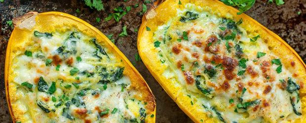 cheesy-garlic-parmesan-spinach-spaghetti-squash