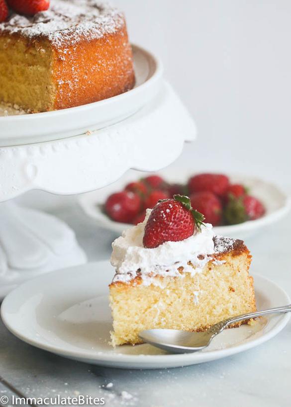 Caribbean Desserts - Condensed Milk Cake