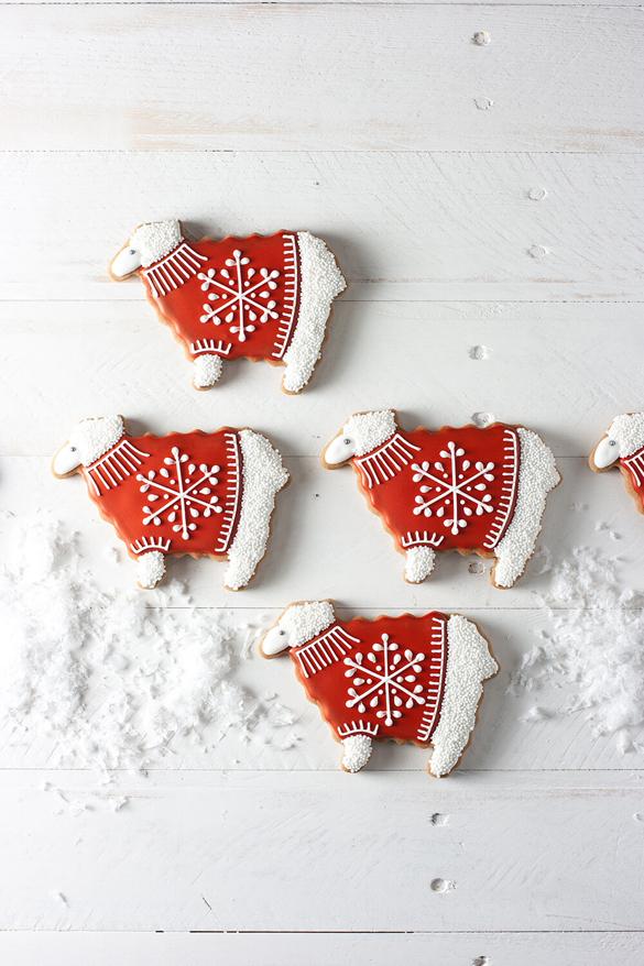 Snowflake Sweater Sheep
