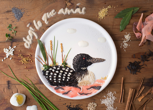 Awesome Food Art by Anna Keville Joyce
