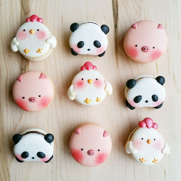 Adorable animal-shaped sweets by Melly Eats World