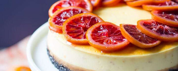 Blood Orange Cheesecake